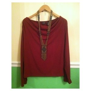 🌻SALE 5 for $25 • NewYork&Company Cowl Neck Top